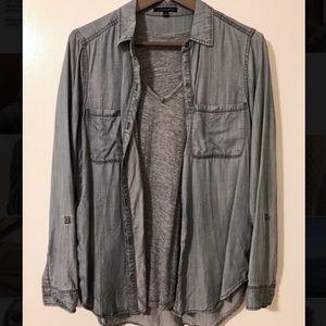 Staccato chambray shirt | Size Small